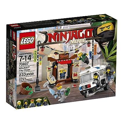 Amazon.com: LEGO Ninjago Movie City Chase 70607 Building Kit (233 ...