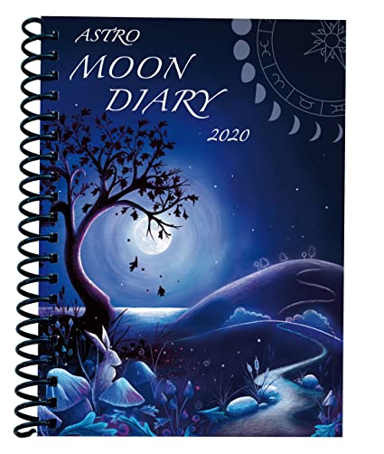 Moon Diary 2020 - Agenda de datos con calendario: Amazon.es ...