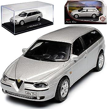 Alfa Romeo 156 SW Sportwagon Kombi Rot 1997-2007 Nr 746 1//18 Otto Mobile Modell Auto mit individiuellem Wunschkennzeichen