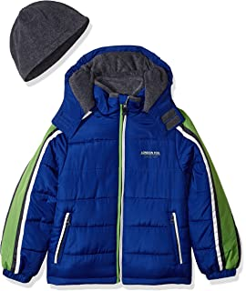2e10a7c8b Amazon.com  ZeroXposur Little Boys  Toddler Warren Puffy Jacket ...
