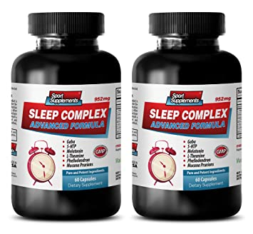 5-htp 50 mg - SLEEP COMPLEX ADVANCED FORMULA - 952MG - melatonin alcohol free