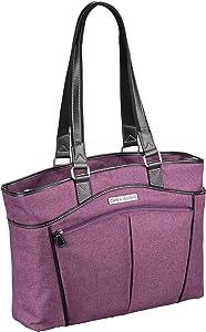 "Clark & Mayfield Reed Laptop Handbag 17.3"" (Purple)"