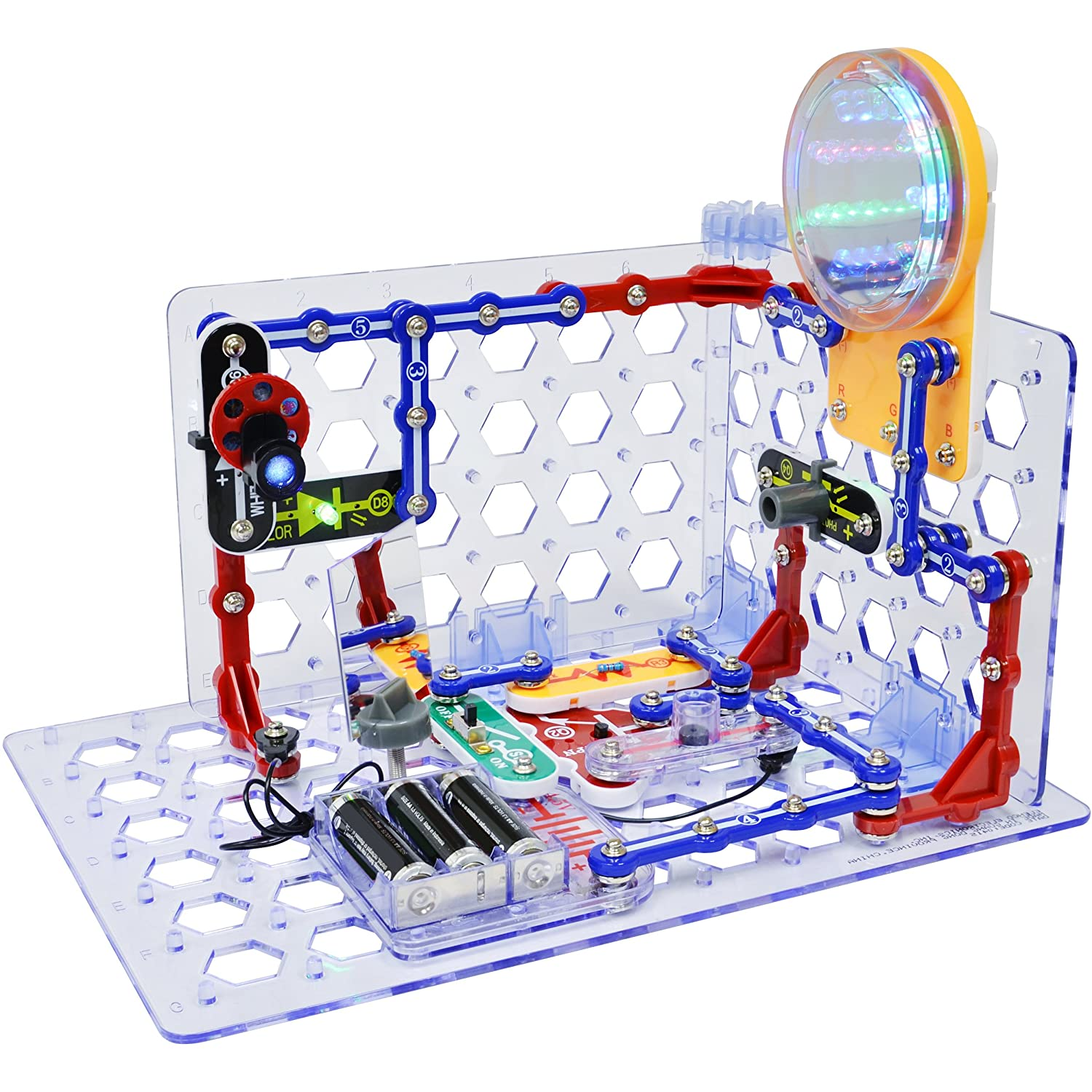 Snap Circuits Sc 3di 3d Illumination Electronics Discovery Kit New Motion Scm165 For 2016 Motorcycles Amazon Canada