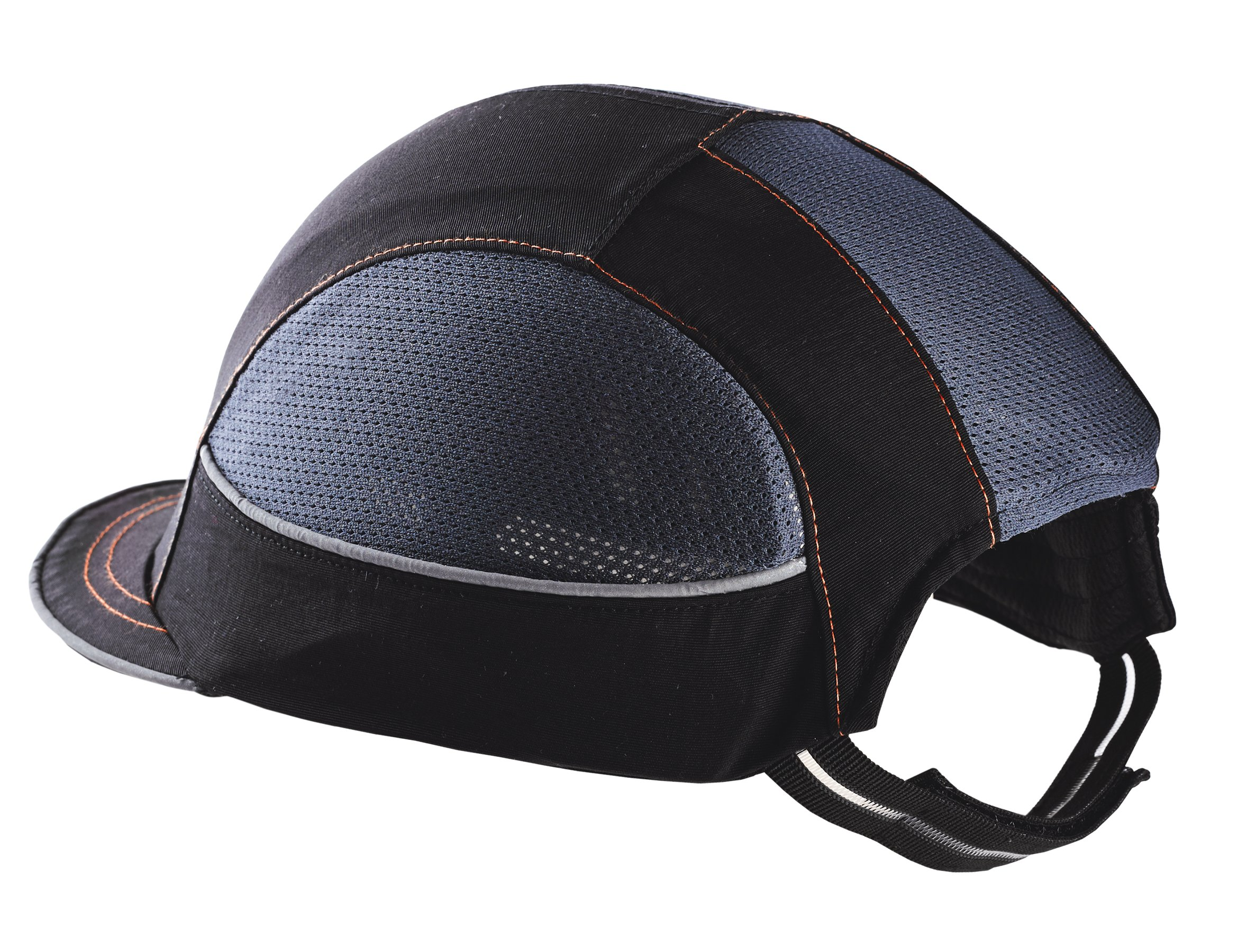 Safety Bump Cap, Baseball Hat Style, Breathable Head Protection, Long Brim, Skullerz 8950 by Ergodyne (Image #4)