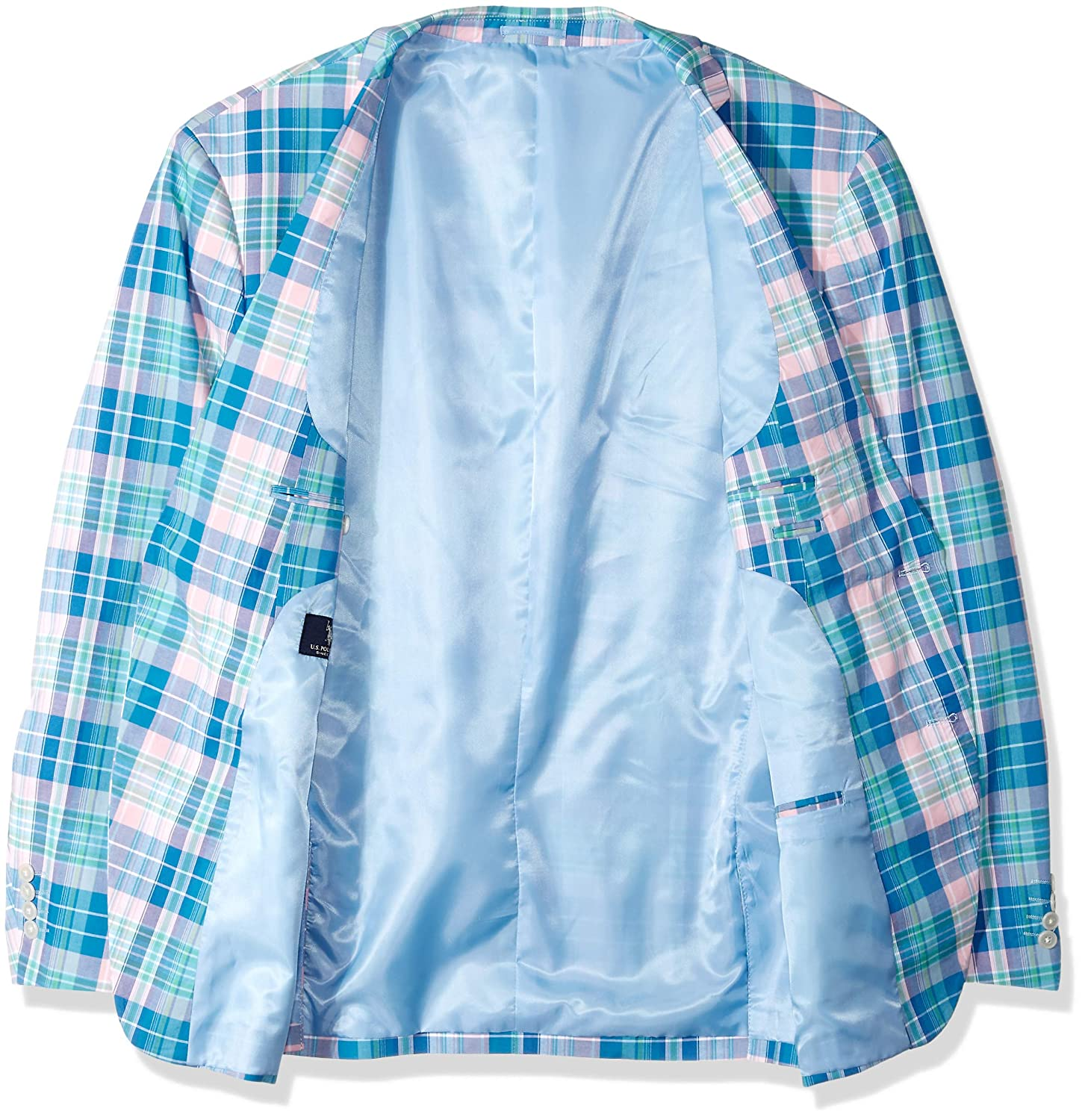 Mens Big and Tall Fancy Cotton Sport Coat Polo Assn U.S
