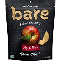 Bare Natural Apple Chips, Fuji & Reds, Gluten Free + Baked, Multi Serve Bag - 3.4 Oz