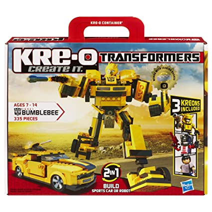 Amazon Kre O Transformers Bumblebee Construction Set 36421