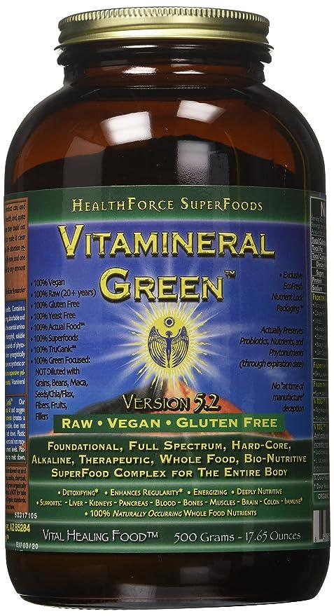Vitamineral Healthforce Verde V 5.2 Polvo 500-Gramos