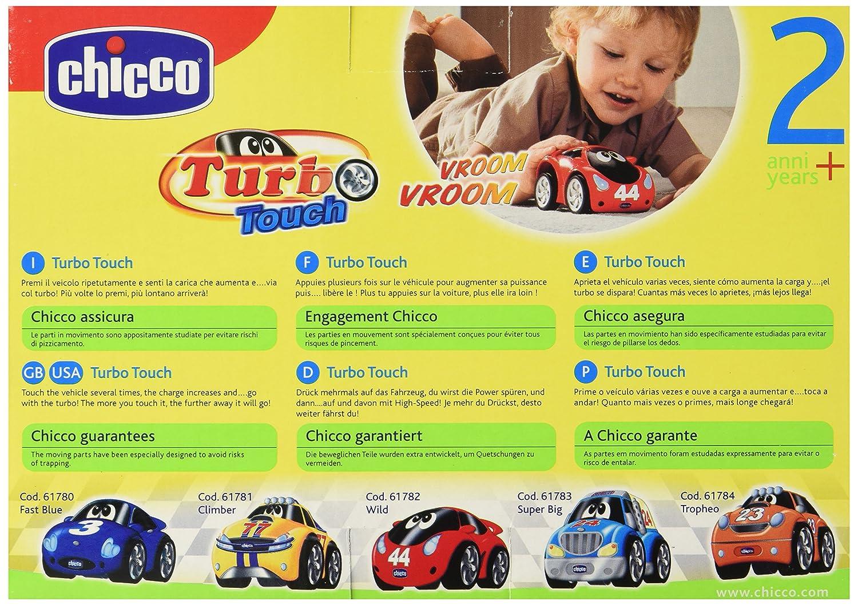 Chicco - Turbo Touch, Wild, coche de cuerda (00061782000000): Amazon.es: Juguetes y juegos