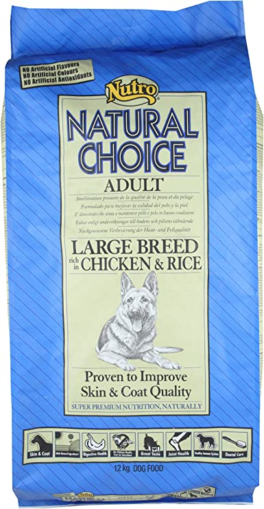 NUTRO C-12073 Adult Chicken Large Bread 12: Amazon.es: Productos para mascotas