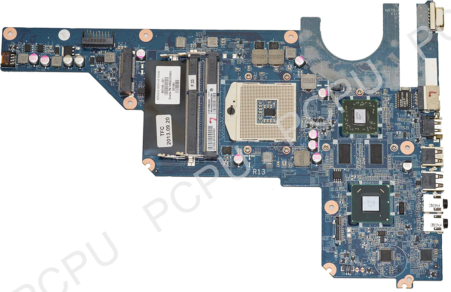 HP 650199-001 G4 G6 G7 Intel Laptop Motherboard s989