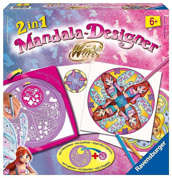 Winx Ravensburger 29732 Mandala Designer Club - Máquina para dibujar 2 en 1: Amazon.es: Juguetes y juegos
