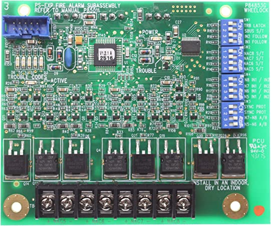 WHEELOCK PS-8 complete set of new boards