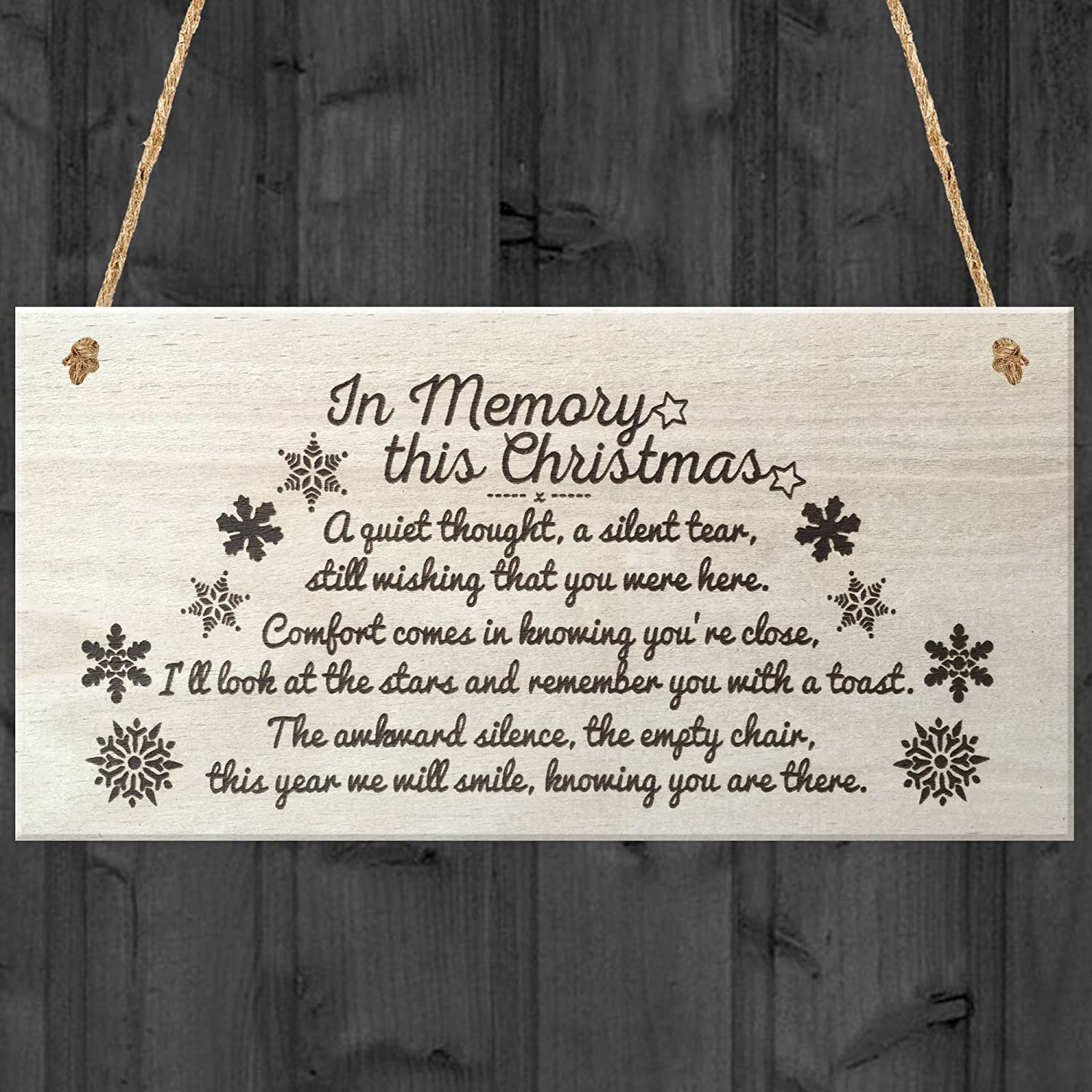 Christmas wooden christmas memories hanging sign sold out - Product Details