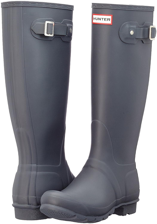 Hunter Women's Original Tall Rain Boot B01N9TY5NB 5 B(M) US|Dark Slate