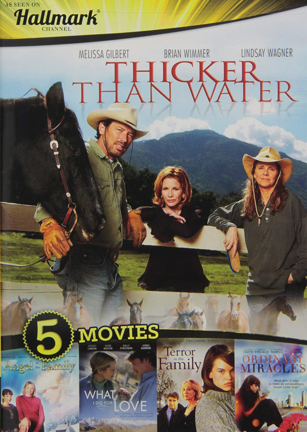 Hallmark Entertainment Collection: Thicker Than Water / Angel in the Family / What I Did for Love / Terror in the Family / Ordinary Miracles