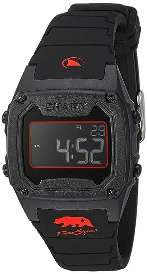 Freestyle Unisex 10027426 tiburón pantalla Digital negro reloj de cuarzo japonés: Amazon.es: Relojes