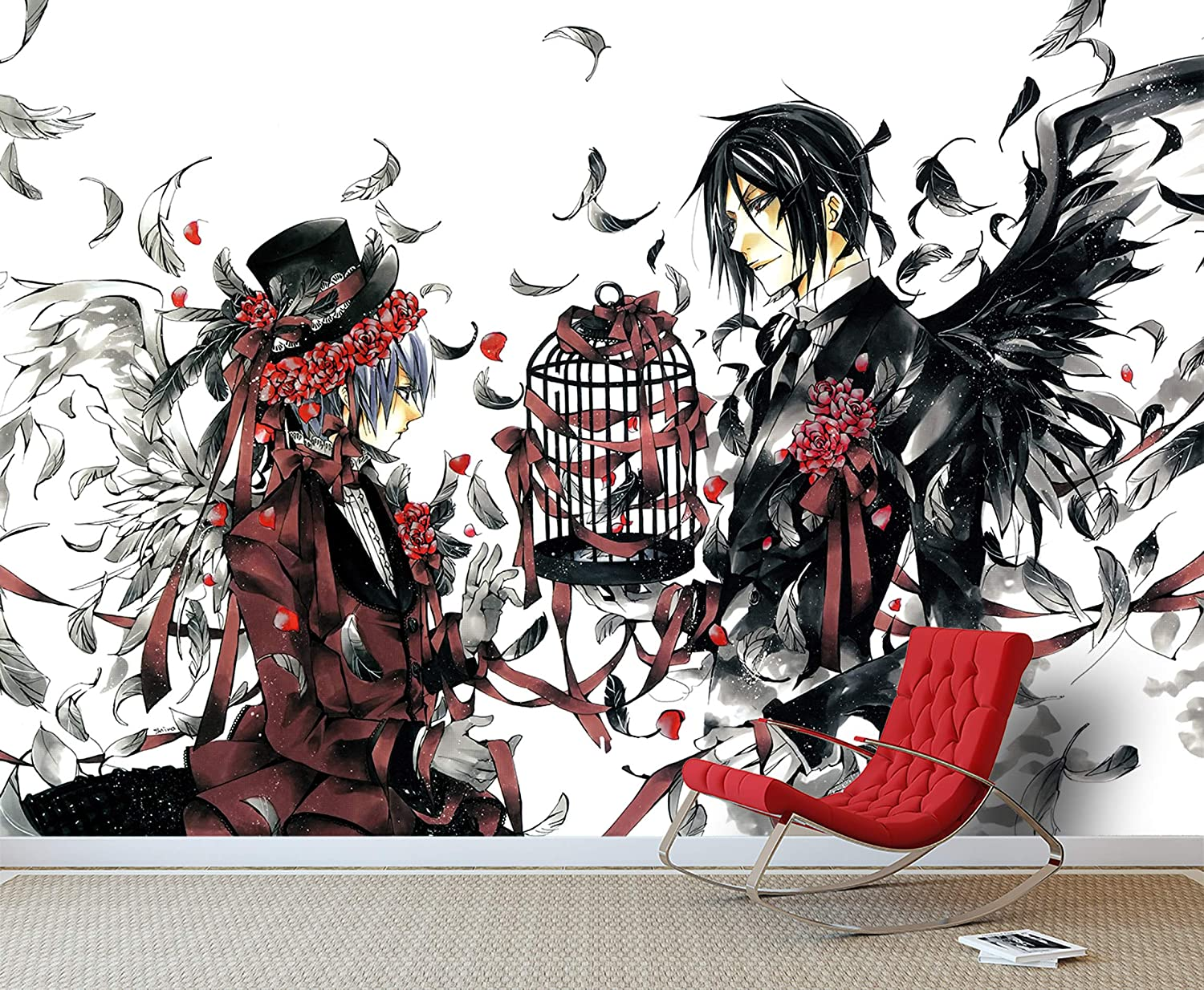 3d Black Butler 248 Japan Anime Wall Paper Print Decal Deco