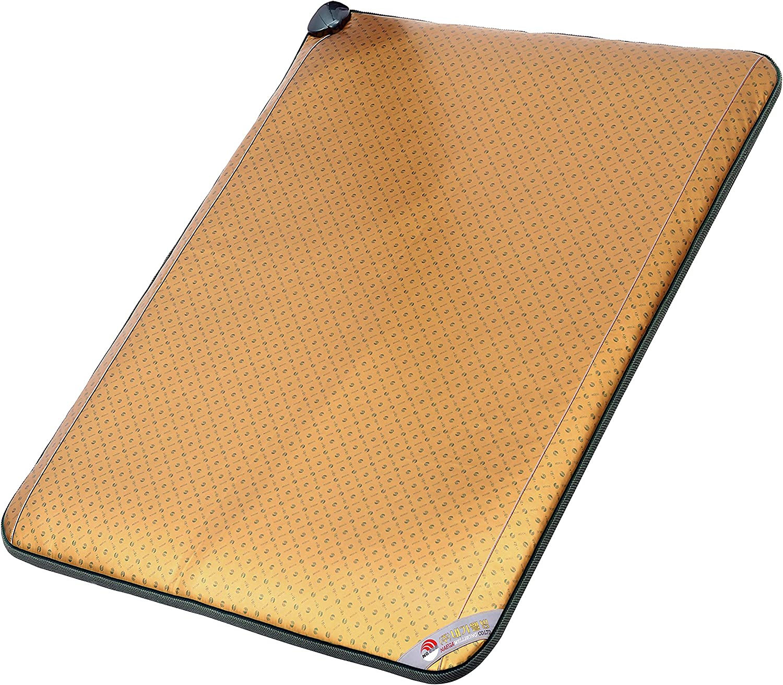 NAEGA Wellbeing Medical FAR Infrared & Negative ION Heat Therapy PAD Healing Heat MAT-외적외선 힐링 온열 온돌 치료기 매트 (27.5 inch x 70 inch)