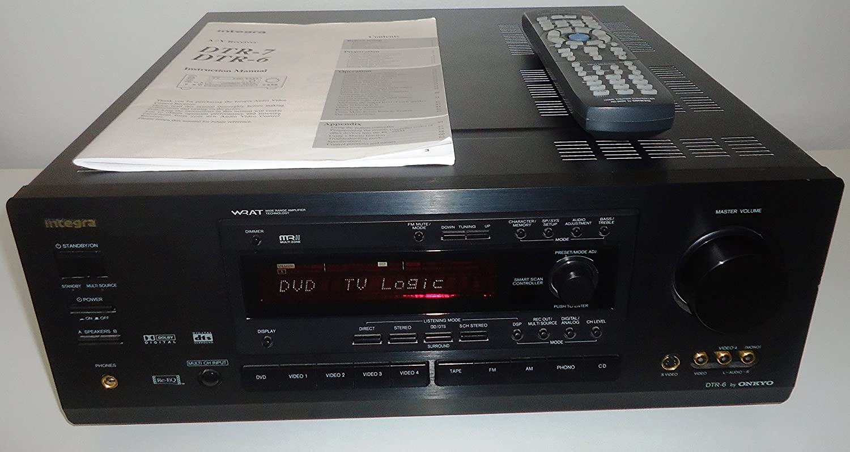 amazon com onkyo integra dtr 6 wrat wide range amplifier technology rh amazon com Integra Dtr-5.6 Stereo Receiver Stick Figure for DTR