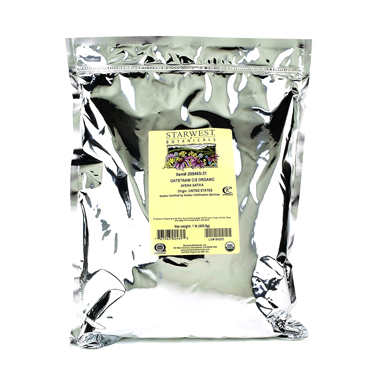 Bulk herbs spices organic organic herbal tea - Amazon Com Starwest Botanicals Organic American Oatstraw Herb Loose Tea Cut And Sifted 1 Pound Bulk Bag Health Personal Care