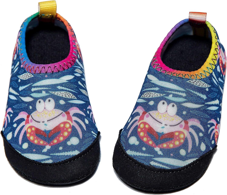 Panda Software Toddler Water Shoes Baby Boys Girls Shoes Infant Barefoot Quick-Dry Anti-Slip Aqua Sock for Kids Beach Swim Pool