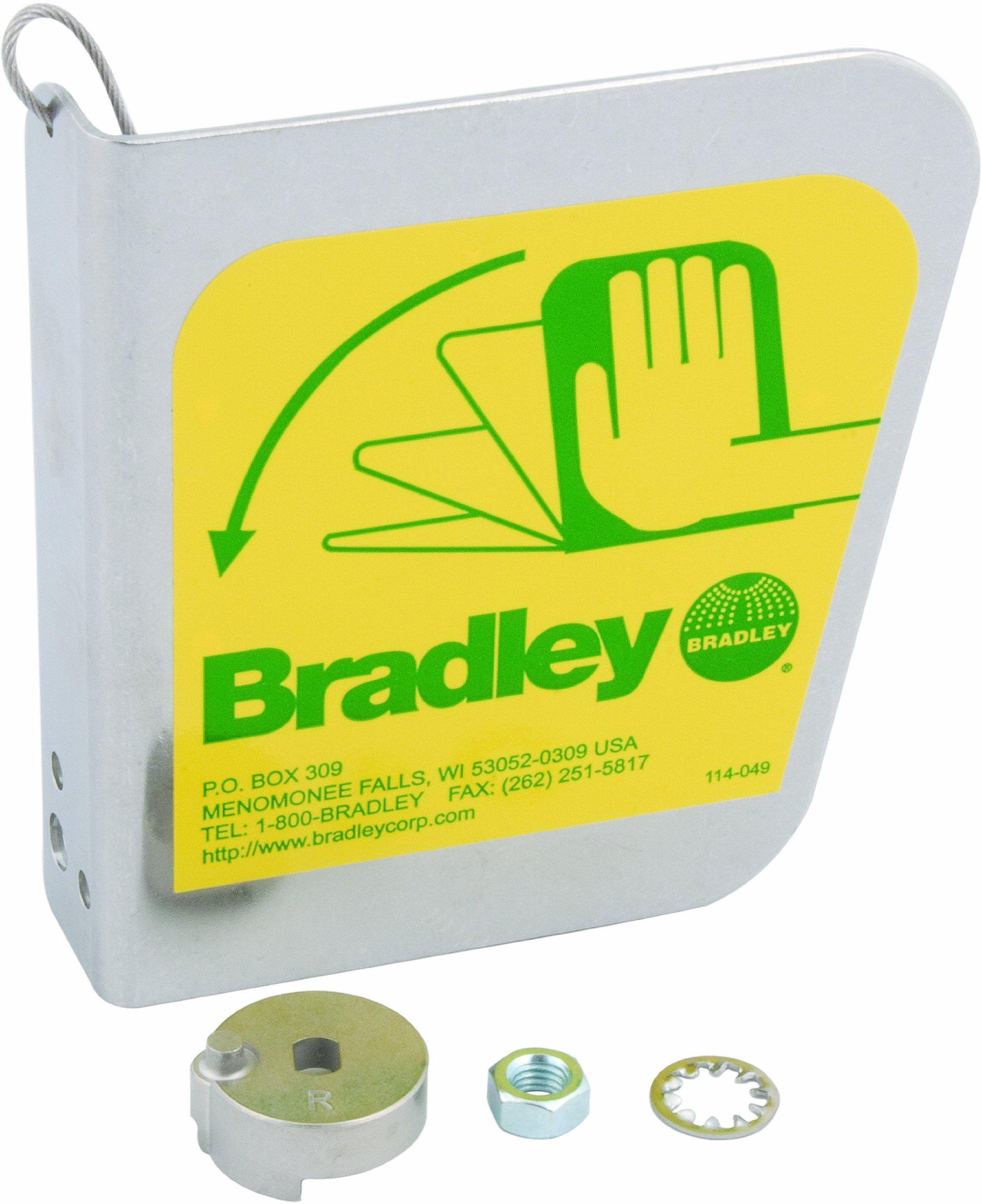 Bradley S30-087 Stainless Steel Eyewash Dust Cover Handle