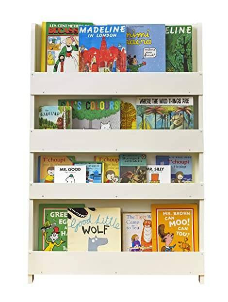 Bücherregal wand kinderzimmer  Tidy Books® - Das originale Kinder-Bücherregal in Cremeweiß ...