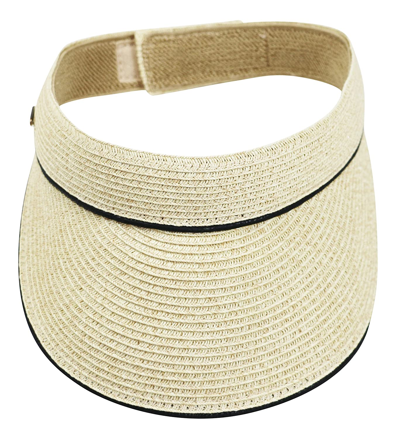 Nine West Packable UPF 50+ Sun Protection Visor One Size) 7448