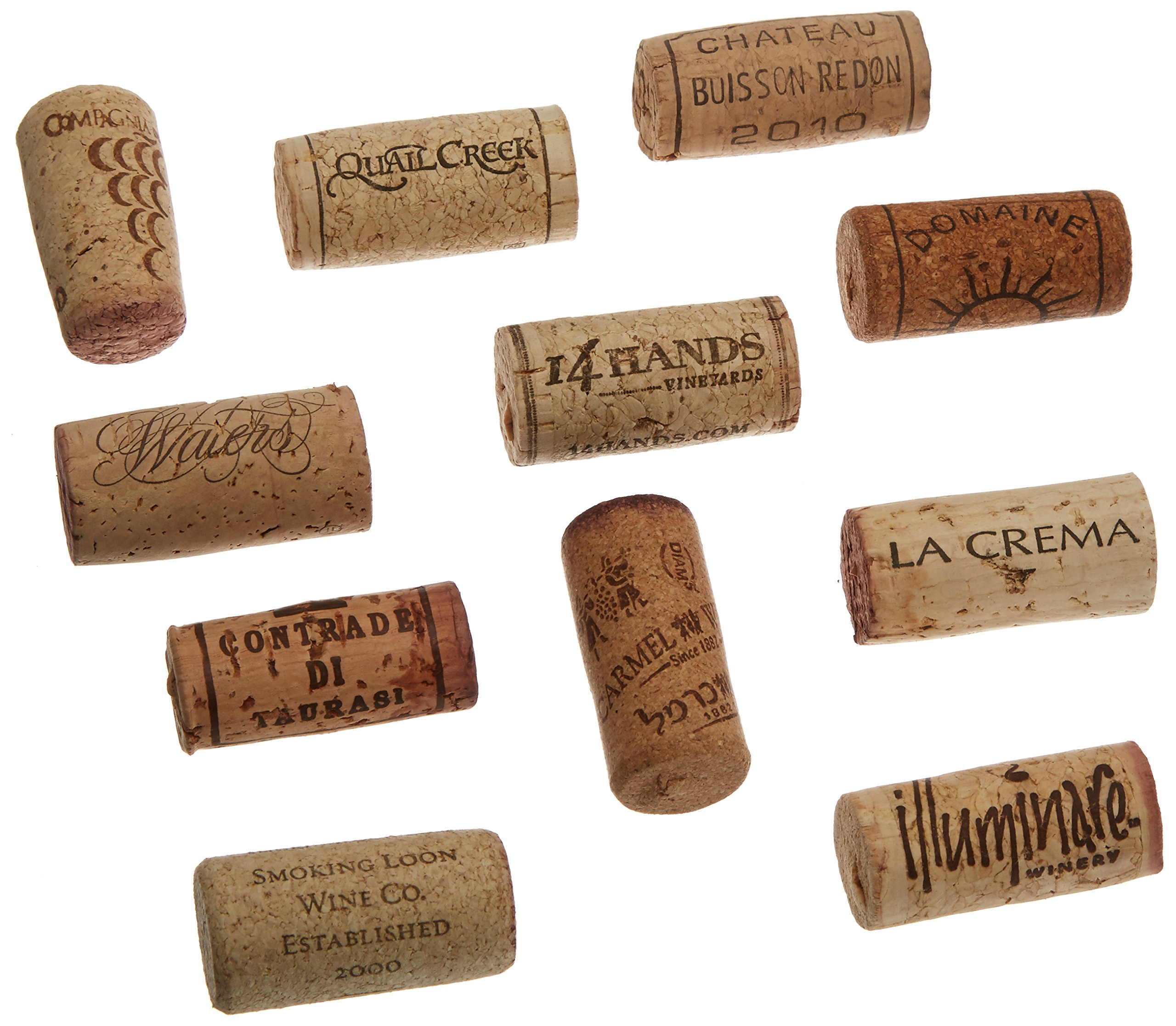 Premium Recycled Corks, Natural Wine Corks From Around the US - 100 Count