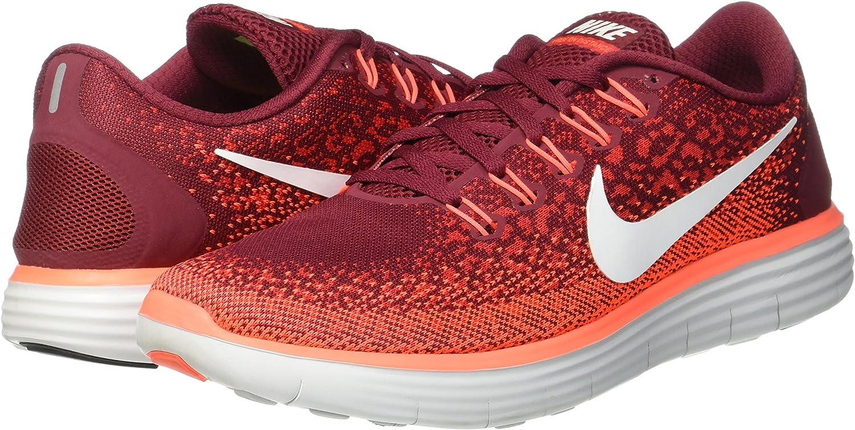 Nike Free RN Distance, Zapatillas de Running para Hombre, Rojo (Team Red/Off White-University Red), 45 1/2 EU: Amazon.es: Zapatos y complementos