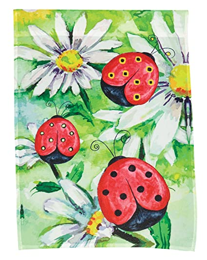Attirant The Paragon Ladybug Garden Flag   Colorful 2 Sided Yard Decoration