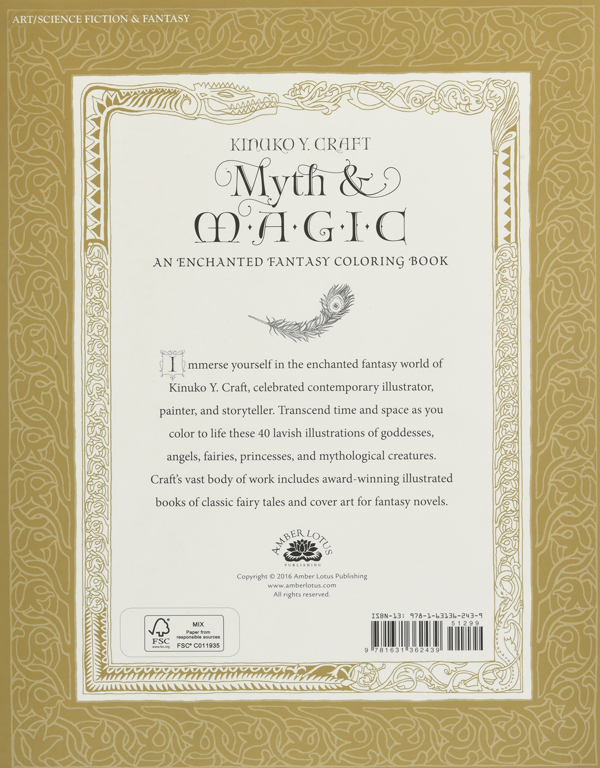 Myth magic an enchanted fantasy coloring book livros na amazon myth magic an enchanted fantasy coloring book livros na amazon brasil 9781631362439 fandeluxe Images
