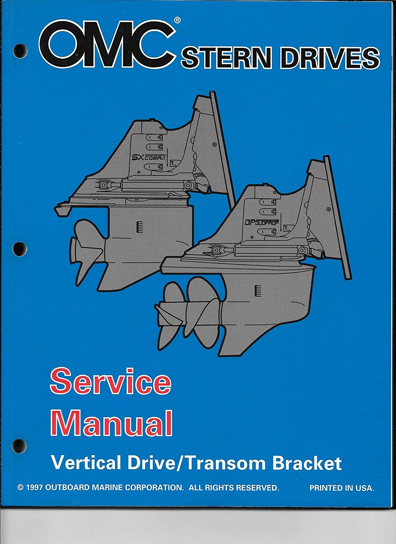 "Amazon.com : 1998 OMC VOLVO SX Cobra, DP DUO PROP ""BY"" Service Manual Set  501197 : Sports & Outdoors"