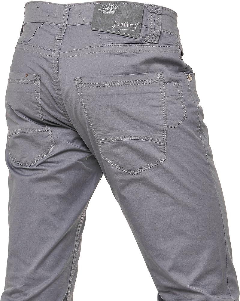 Justing TailleFr 36 Us Jeans Gris 46 Pantalon Toile Homme TclK1FJ