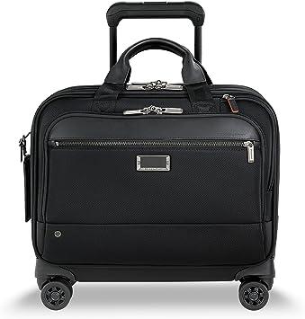 Black Briggs /& Riley @work Large Spinner Briefcase