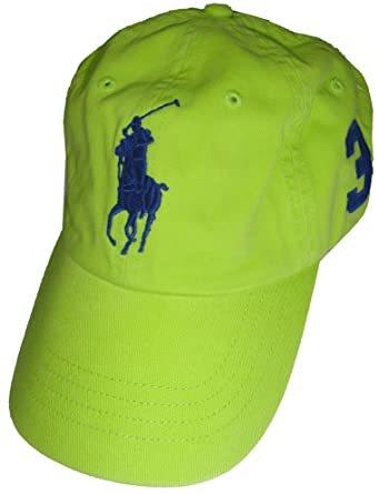6508cb8723a Polo Ralph Lauren Men Big Pony Logo Hat Cap (One size