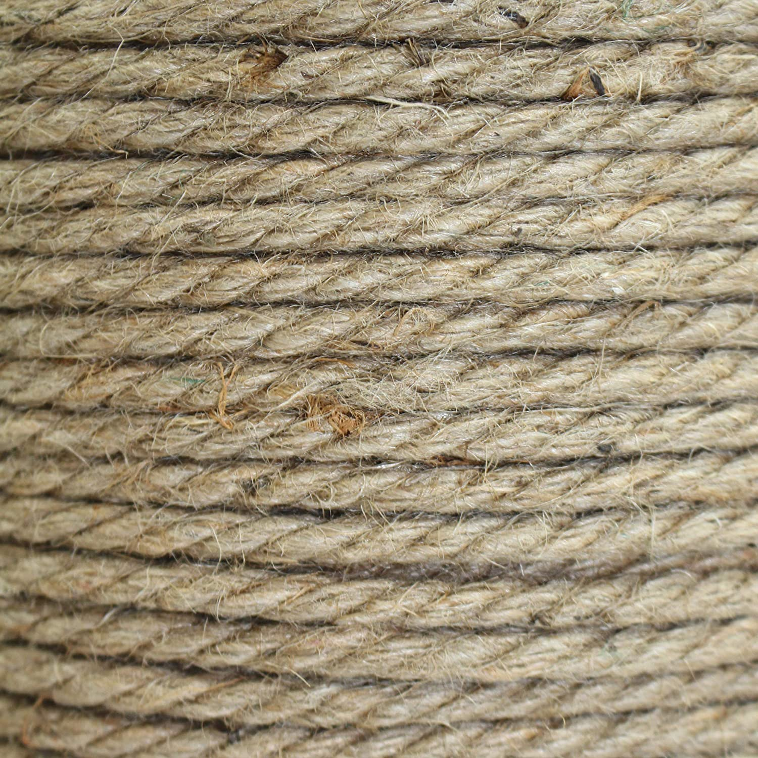 Bailing Packing Twisted Jute Rope Crafts /& Crafting Survival Thick Heavy Duty 3 Strand Jute Ropes 1//2 in x 600 ft Strong All Natural Jute Fibers Home Decor SGT KNOTS Garden /& Gardening