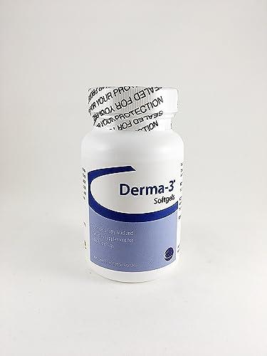 Derma-3 Softgels For Medium Breeds, 60 Capsules