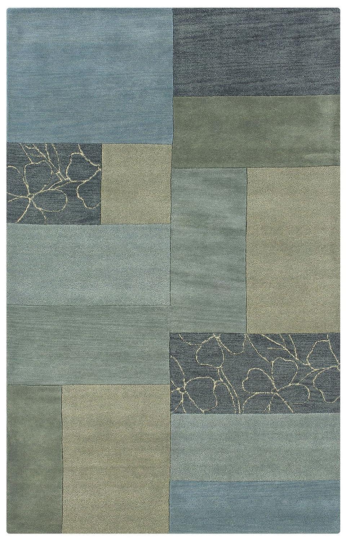 Amazon.com: Rizzy Home PR0214 Pandora 8 Feet By 10 Feet Area Rug, Blue:  Kitchen U0026 Dining