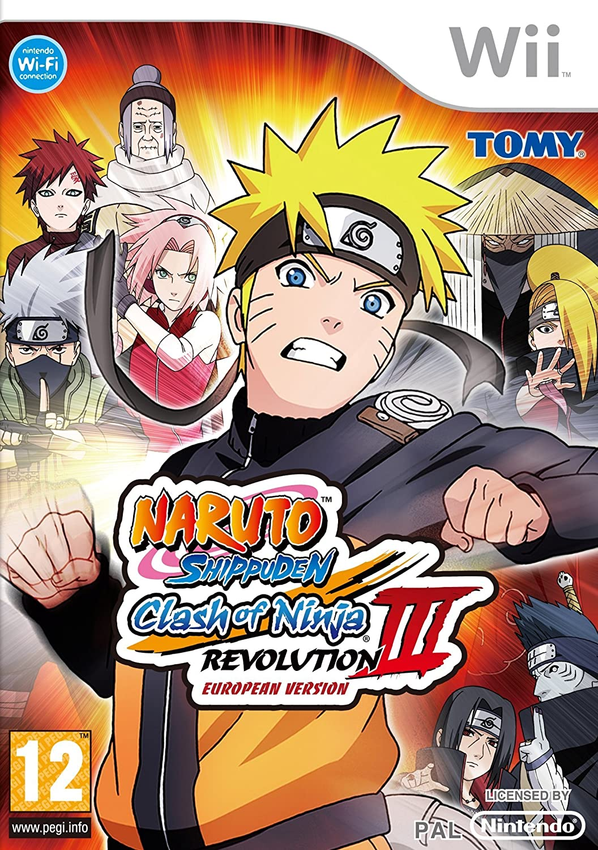 Naruto Shippuden : Clash of ninja revolution 3 [Importación ...