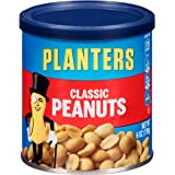 Planters Peanuts, Classic Roasted & Salted, 6 Ounce Canister