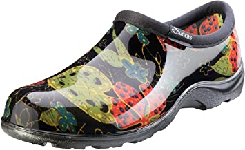 Women's Garden Shoes >> Sloggers Women S Waterproof Rain And Garden Shoe With Comfort Insole Midsummer Black Size 10 Style 5102bk10