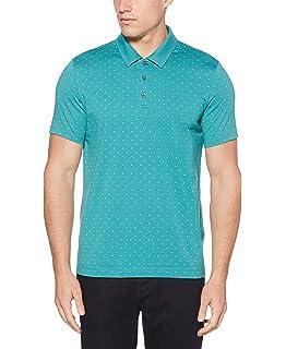 20ecb62a85 Perry Ellis Mens Feeder Stripe Graphic T-Shirt bluecoral M