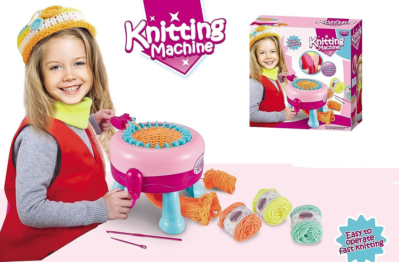 XinBooming DIY Knitting Machine,Smart Weaver Knitting Machine for Kids Medium