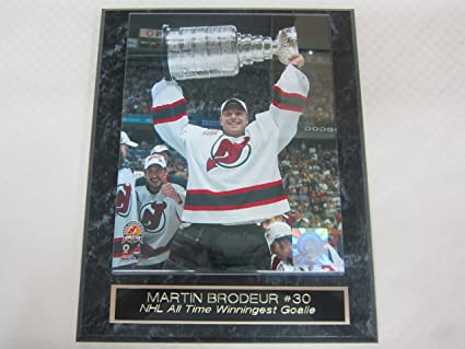 Image Unavailable. Image not available for. Color  Martin Brodeur New  Jersey Devils Stanley Cup ... 08ef3c69b