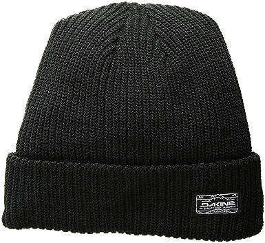 ef1b1fc19dc Amazon.com  Dakine Unisex Daryl Beanie Black One Size  Clothing