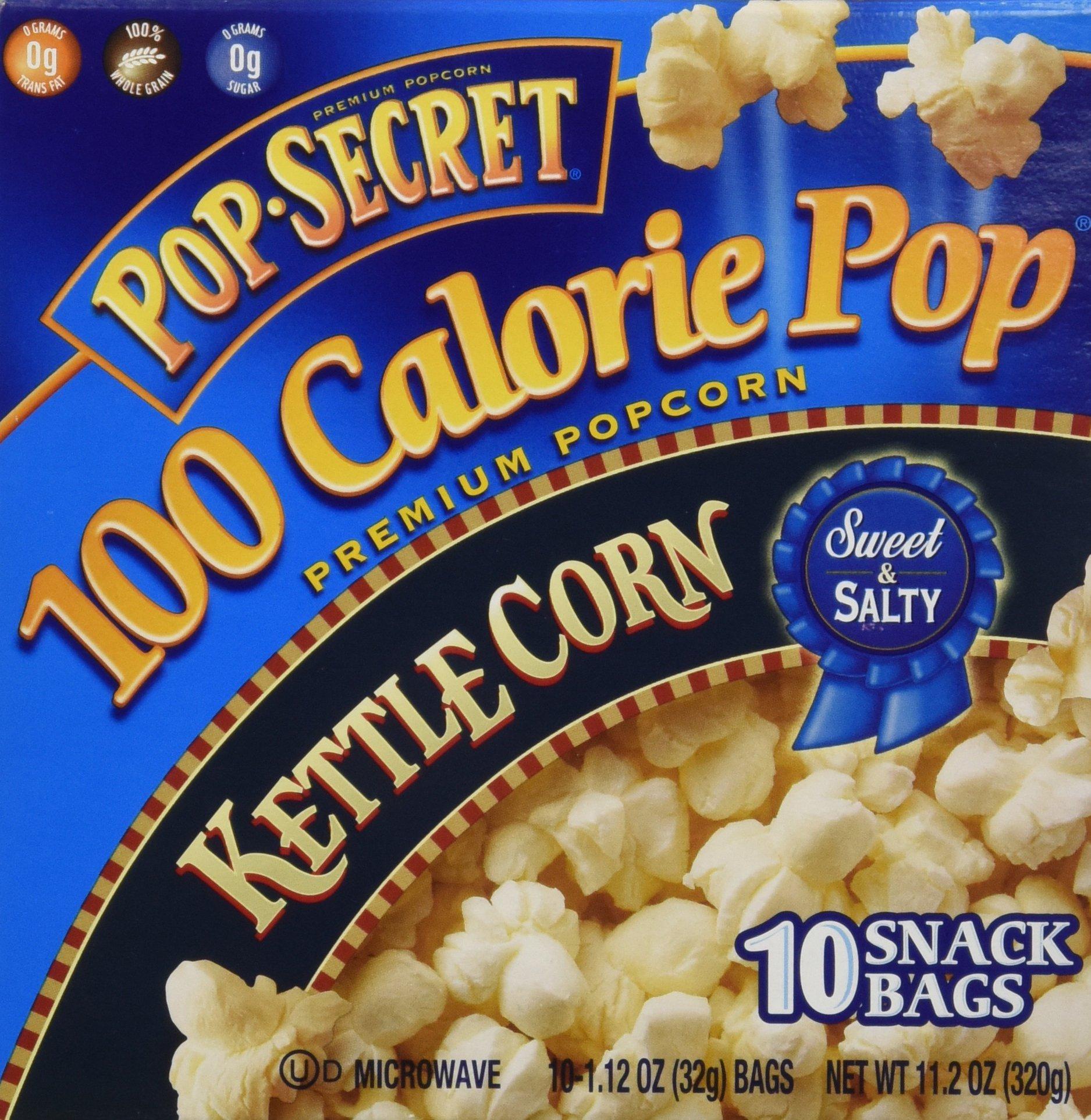 Pop Secret 100 Calorie Kettle Corn - 11.2 oz - 10 ct by Pop Secret