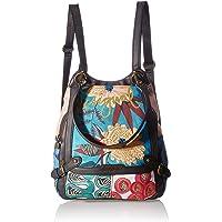 Desigual Backpack Big, Fabric - Mochila (tamaño grande) para Mujer, M