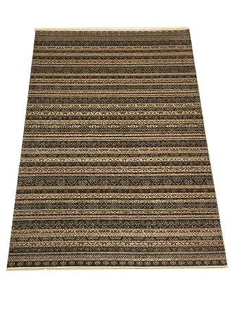 Benissimo Weich Natürliches Gefärbten Türkische Wolle Teppich Bergama Sammlung  Wohnzimmer Größe 10 X 13 Ft Braun